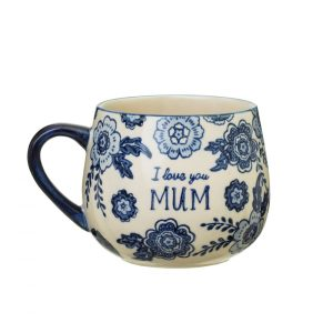 Blue Willow Mum Mug - Sass and Belle