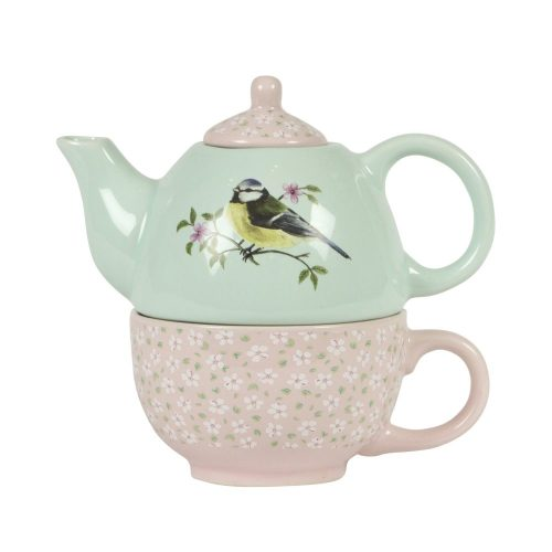 Garden Birds Teapot For One - Sass and Belle