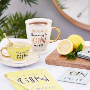 Secret Gin Time Mug - Sass and Belle