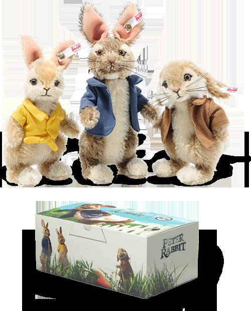 Steiff Beatrix Potter Peter Rabbit Gift Set - Limited Edition EAN 355622