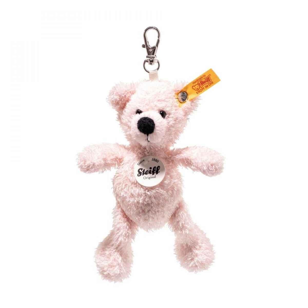 Steiff Lotte Pink Teddy Bear Keyring - EAN 112515