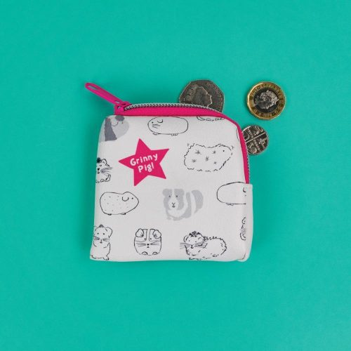 Guinea Pig 'Grinny Pig' Tiny Purse - GSG01 - Giggle and Snort Collection - Really Good
