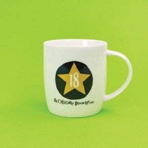 18th Birthday Milestone Mug - The Bright Side - BSHHC53