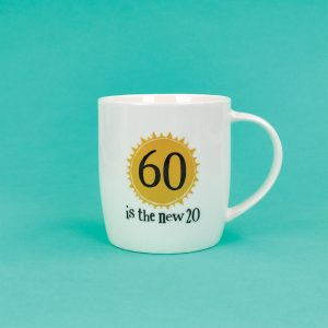 60th Birthday Milestone Mug - The Bright Side - BSHHC58