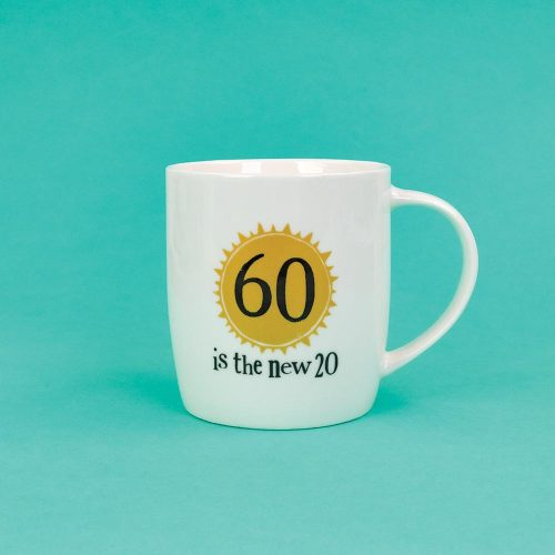 60th Birthday Milestone Mug - The Bright Side - BSHHC58