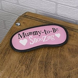 Mummy-to-Be Snoozing Sleep Mask - The Bright Side