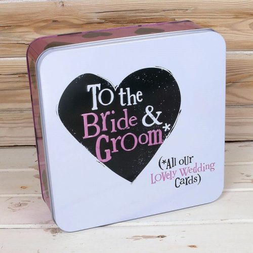 All Our Lovely Wedding Cards Keepsake Tin - The Bright Side