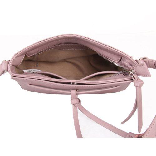 Red Cuckoo - 344 - Dusky Mauve Tassel Cross Body Bag