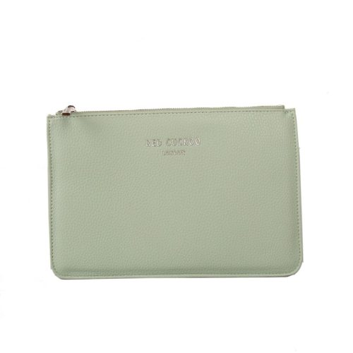 Red Cuckoo - 515 - Mint Green Flat Clutch Bag
