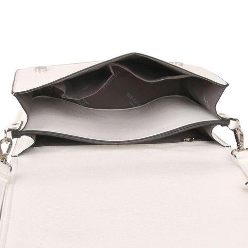 Red Cuckoo - 578 - White Fold Over Cross Body Bag