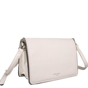 Red Cuckoo - 578 - White Fold Over Cross Body Bag