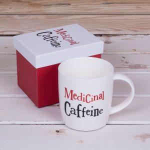 Medicinal Caffeine Mug – The Bright Side