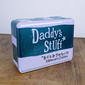 Daddy's Stuff Tin - The Bright Side