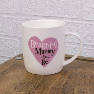 Beautiful Mummy To Be Mug - The Bright Side - BSHHC64
