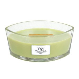 WoodWick HearthWick Fern Ellipse Candle, 453g