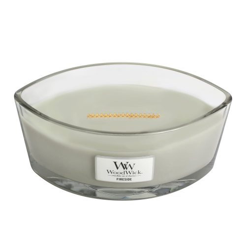 WoodWick HearthWick Fireside Ellipse Candle, 453g