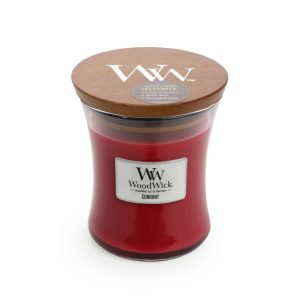 WoodWick Currant Medium Hourglass Candle, 275g