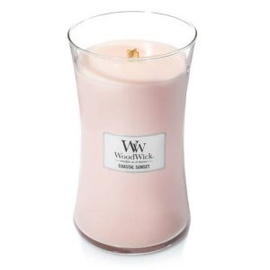 WoodWick Coastal Sunset Large Hourglass Candle, 604g
