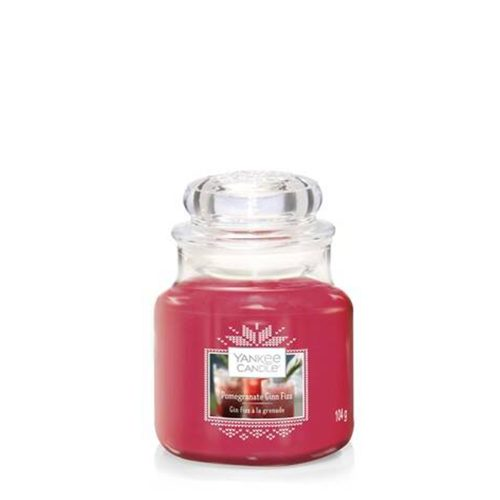 Pomegranate Gin Fizz - Yankee Candle - Small Jar, 104g