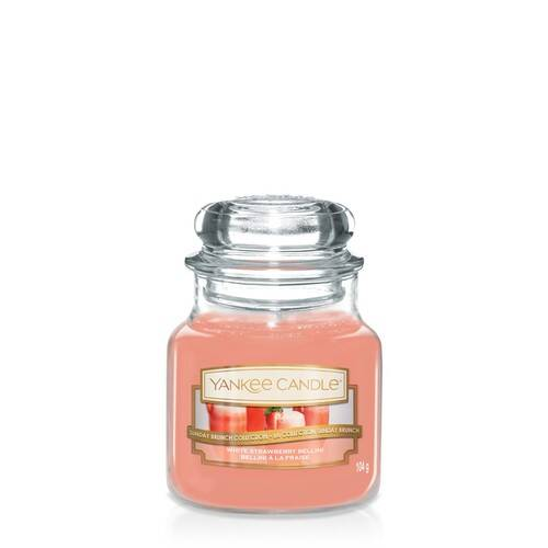 White Strawberry Bellini - Yankee Candle - Small Jar, 104g