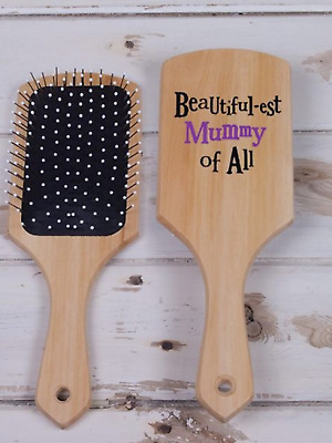 Beautiful-est Mummy of All Novelty Hairbrush - The Bright Side