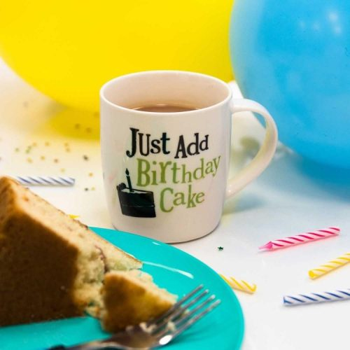 Just Add Birthday Cake Mug - The Bright Side