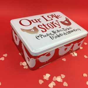 Our Love Story Keepsake Tin - The Bright Side