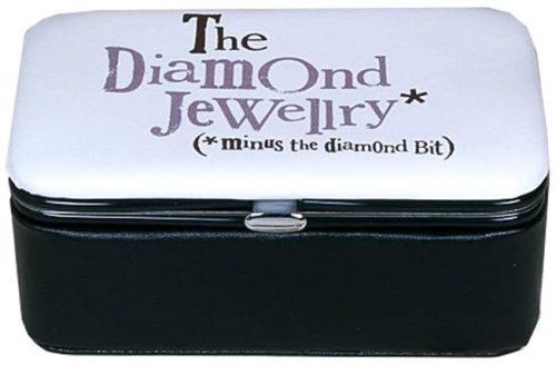 'The Diamond Jewellery: Minus The Diamond Bit' Jewellery Box - The Bright Side