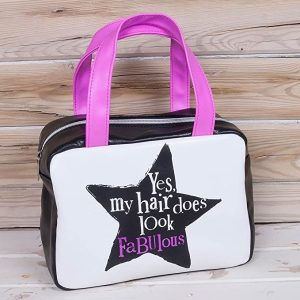 'Yes My Hair Does Look Fabulous' Hair Accessories Bag - The Bright Side