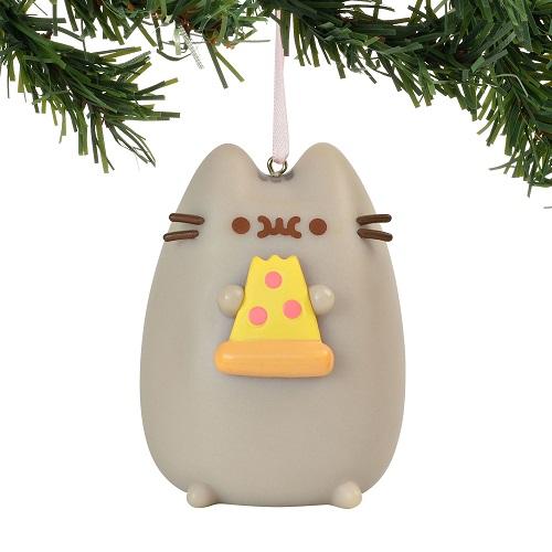 Pusheen The Cat I Love Pizza Hanging Ornament