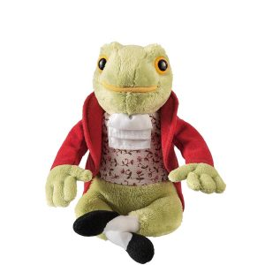 Jeremy Fisher Frog Medium Soft Toy - Beatrix Potter