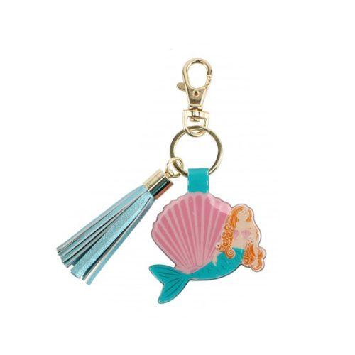Mermaid Tassel Keyring - Cloud Nine