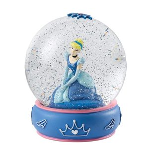 Enesco Disney Enchanting Cinderella Water Ball Snow Globe - Shy and Romantic