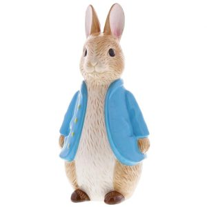 Peter Rabbit Sculpted Money Bank - Beatrix Potter