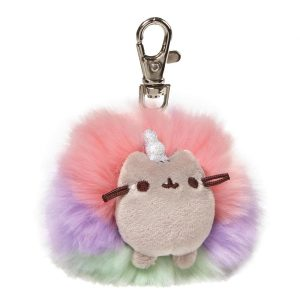 Pusheen Pusheenicorn Deluxe Pom Pom Key Ring