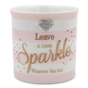 Mad Dots 'Leave a Little Sparkle Wherever You Go' Ceramic Candle
