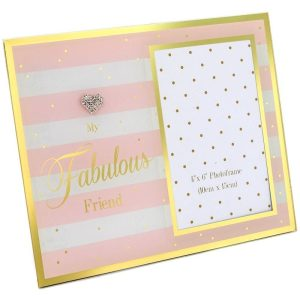 Mad Dots Fabulous Friend Mirror Frame