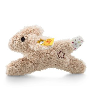 Steiff Mini Rabbit Rattle with Rustling Foil - EAN 240683