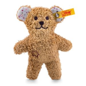Steiff Mini Teddy Bear Rattle with Rustling Foil - EAN 240669