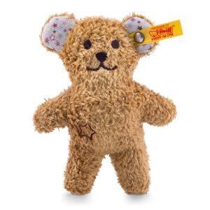 Steiff Mini Teddy Bear Rattle with Rustling Foil - EAN 240669