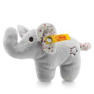 Steiff Mini Elephant Rattle with Rustling Foil - EAN 240690