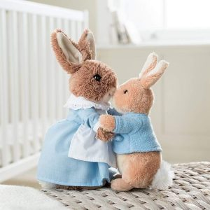 Peter Rabbit and Mrs Rabbit Soft Toy Set - Beatrix Potter