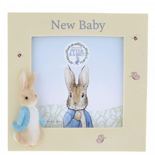 Peter Rabbit New Baby Photo Frame - Beatrix Potter