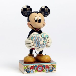 Disney Traditions Jim Shore Mickey Mouse 'It's A Boy!' Figurine