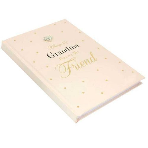 Mad Dots 'Always My Grandma, Forever My Friend' A5 Notebook