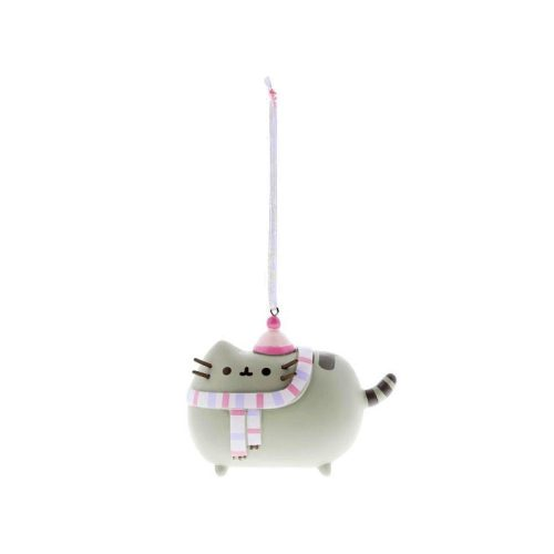 Pusheen with Winter Scarf Hanging Ornament