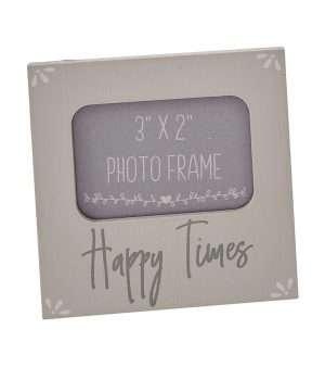 Positivitea 'Happy Times' Mini Photo Frame 3 x 2 Inch