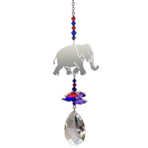 Crystal Fantasy Elephant Hanging Swarovski Suncatcher