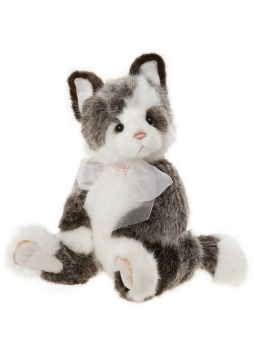 Rodders Cat, 37 cm - Charlie Bears Plush CB202050