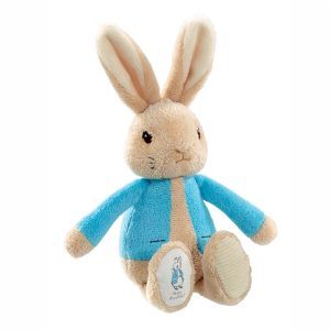 Peter Rabbit Bean Rattle Toy - Beatrix Potter - Rainbow Designs